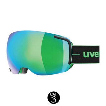 Masque de ski BIG 40 FM black-green mat/mirror green clear