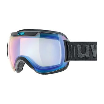 Masque de ski DOWNHILL 2000 VFM black mat/mirror blue variomatic® clear