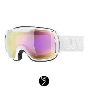Gafas de esquí DOWNHILL SMALL 2000 FM white/mirror pink clear