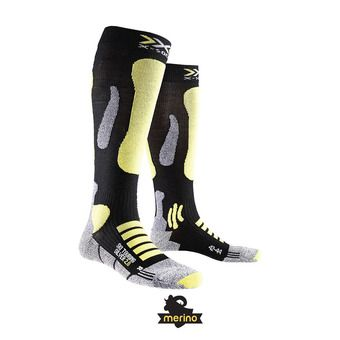 Calcetines de esquí TOURING 2.0 black/yellow