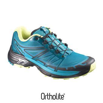 Chaussures trail femme WINGS PRO 2 enamel blu/blubrd/su