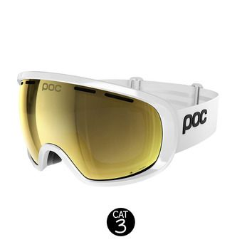 Masque de ski FOVEA CLARITY hydrogen white/spektris gold