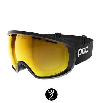 Masque de ski FOVEA CLARITY uranium black/spektris orange