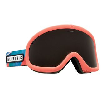 Masque de ski CHARGER pink palms/brose