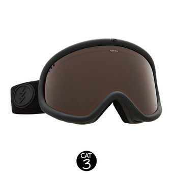 Masque de ski CHARGER XL matte black/brose