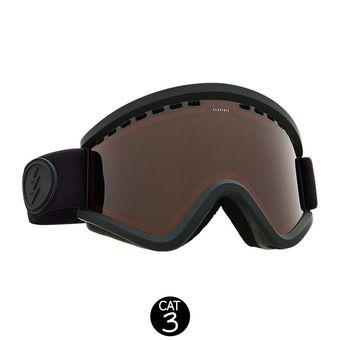 Gafas de esquí EGV matte black/brose