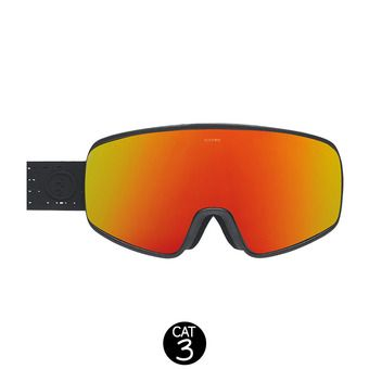 Masque de ski ELECTROLITE matte black/brose-red chrome