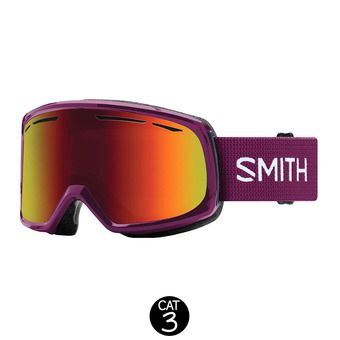 Masque de ski femme DRIFT grape / red sol-x mirror