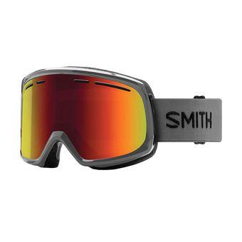 Masque de ski homme RANGE charcoal / red sol-x mirror