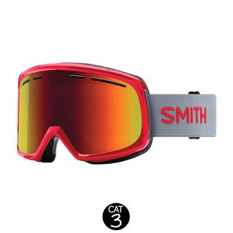 Masque de ski femme RANGE fire / red sol-x mirror