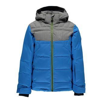 Chaqueta de esquí niño CLUTCH french blue/polar herringbone