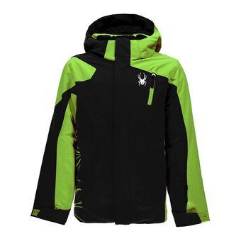 Chaqueta de esquí niño GUARD black/fresh
