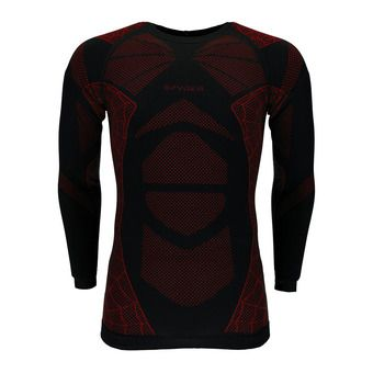 Sous-couche ML homme CAPTAIN black/red