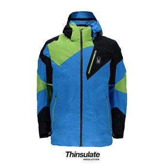 Chaqueta de esquí hombre LEADER french blue/black/fresh