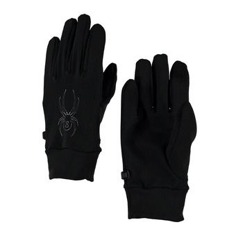 Gants homme STRETCH FLEECE black