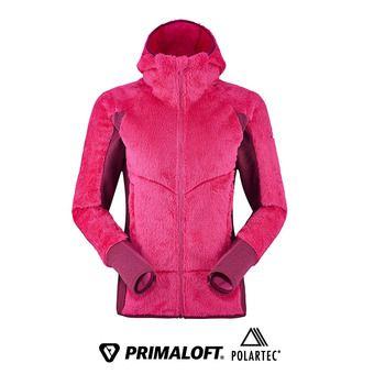 Veste polaire à capuche Primaloft® femme KEMBLA nebula pink