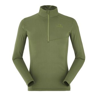 Maillot 1/2 zip homme MONTANA spruce green