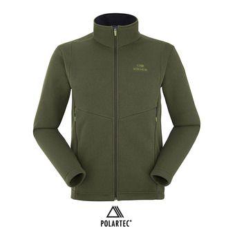 Chaqueta polar hombre MISSION spruce green