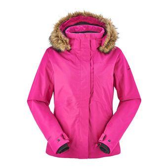 Veste de ski femme THE ROCKS nebula pink