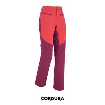 Pantalon femme DRUS XTREM hibiscus/velvet red