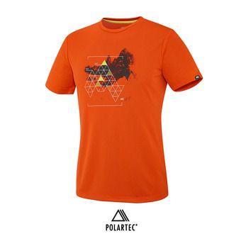 Maillot MC homme BACKAROUND bright orange