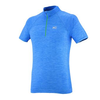 Maillot MC homme WOOLBLEND SEAMLESS electric blue