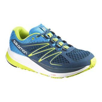 Zapatillas de running hombre SENSE PULSE gentiane/blue/gecko green