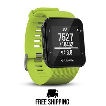 Reloj GPS FORERUNNER 35 verde lima