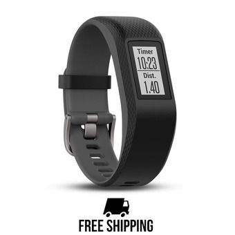 Bracelet d'activité GPS VIVOSPORT noir