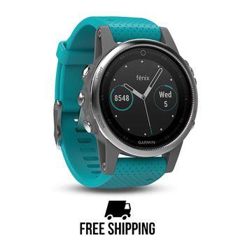 Reloj GPS Fenix 5S negro