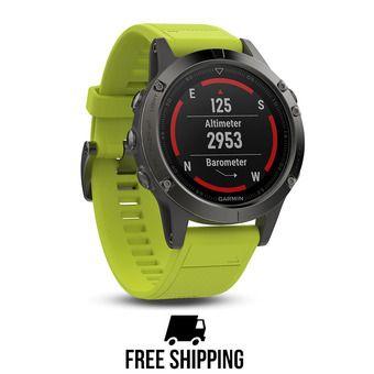 Montre GPS Fenix 5 jaune