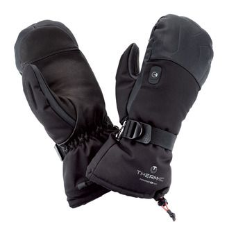 Moufles chauffantes femme POWERGLOVES V2 noir