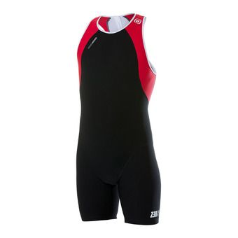 Combinaison uSUIT black/red/white