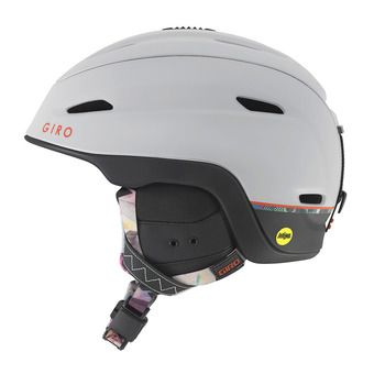 Casque ZONE MIPS matte light grey piste out