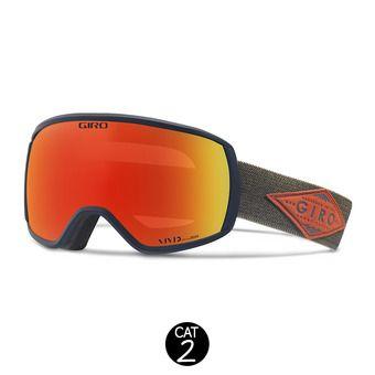 Gafas de esquí BALANCE turbulence/rust - ember