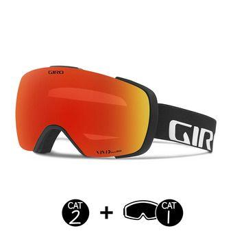 Gafas de esquí CONTACT black wordmark/ember - infrared - 2 écrans