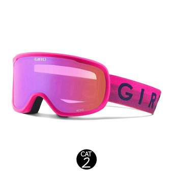 Gafas de esquí mujer MOXIE bright pink horizon - amber pink
