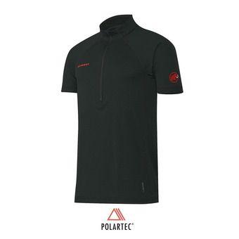 Maillot MC 1/2 zip Polartec® homme ATACAZO black/graphite