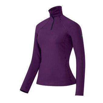 Maillot ML 1/2 zip femme SNOW ML velvet