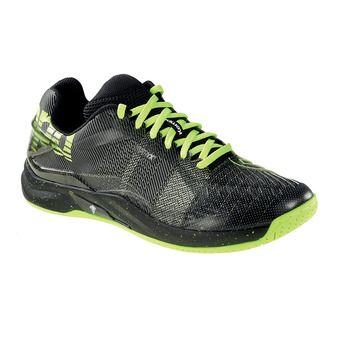 Chaussures homme ATTACK PRO CONTENDER CAUTION noir/jaune fluo