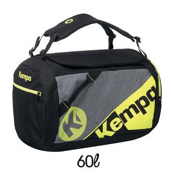 Bolsa de deporte K-LINE PRO CAUTION 60L negro/gris claro jaspeado/amarillo