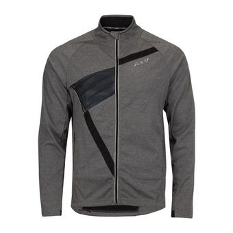 Chaqueta SoftShell hombre SPIN DRIFT black/heather