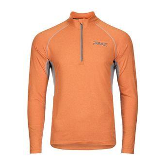 Camiseta hombre OCEAN SIDE blood orange/heather