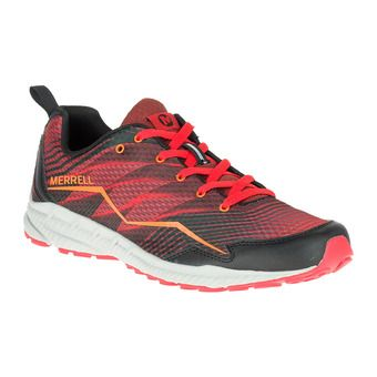 Chaussures trail running homme TRAIL CRUSHER fired red