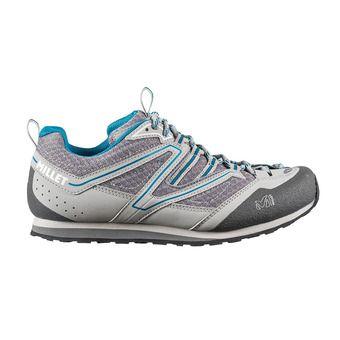 Chaussures randonnée femme SANDSTONE grey/blue