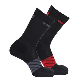 Lot de 2 paires de chaussettes XA 2P black/black