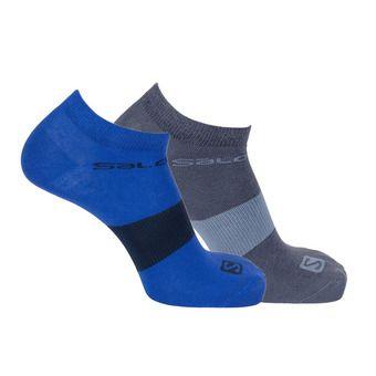 Pack de 2 pares de calcetines LIFE LOW 2P surf the web/ombre blue