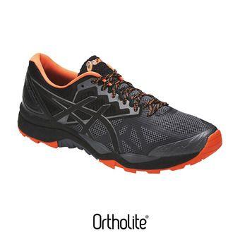 Zapatillas de trail hombre GEL-FUJITRACUBO 6 carbon/black/hot orange