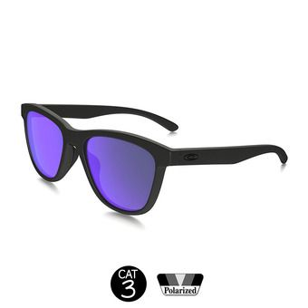 Lunettes de soleil polarisées MOONLIGHTER matte black w/violet iridium®