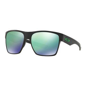 Lunettes de soleil TWO FACE XL matte black w/jade iridium®